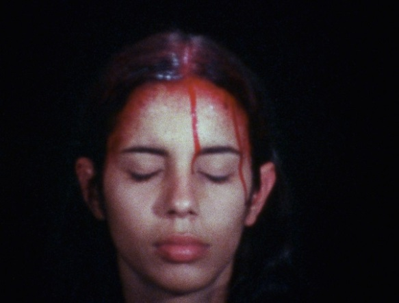 Ana Mendieta Sweating Blood