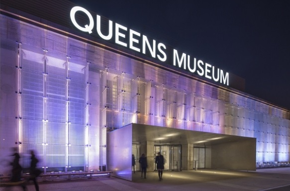 Front view of the Queens Museum.Photo: © David Sundberg/Esto