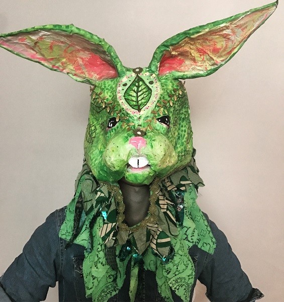 Anna-Hafner-The-Green-Bunny-created-2016, photo by the artist 2017